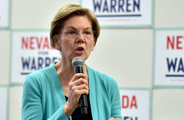 Warren keeps hitting Bloomberg — but is it too late?