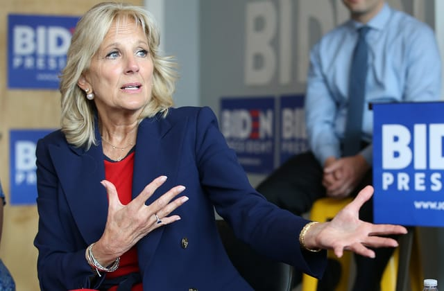 Jill Biden makes candid concession about her husband