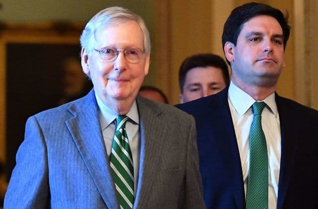 McConnell irks Democrats with rules for Senate trial