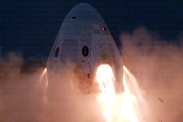 SpaceX successfully completes Crew Dragon engine tests without an explosion
