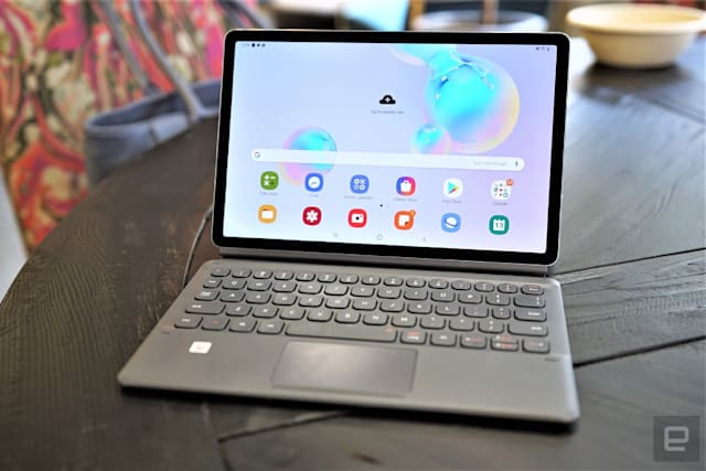 Galaxy Tab S6 review: Good notepad, bad notebook