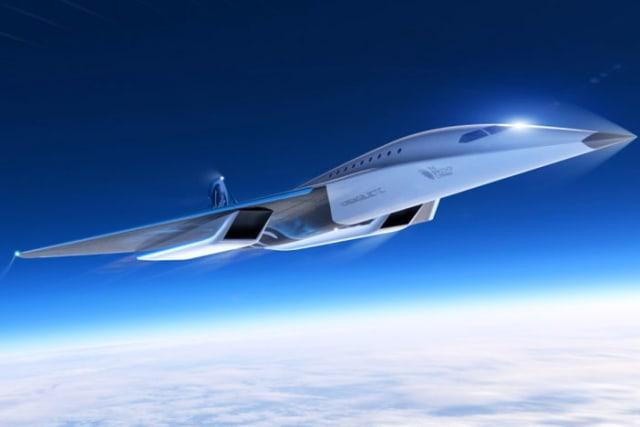 Virgin Galactic reveals its Mach 3 aircraft design