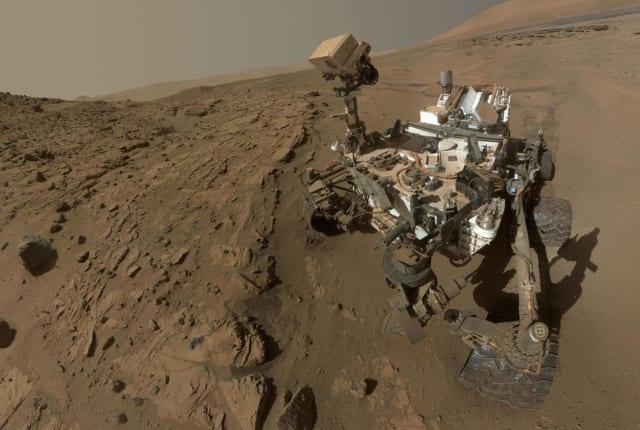 Curiosity 在火星上測得了意外高的甲烷讀數