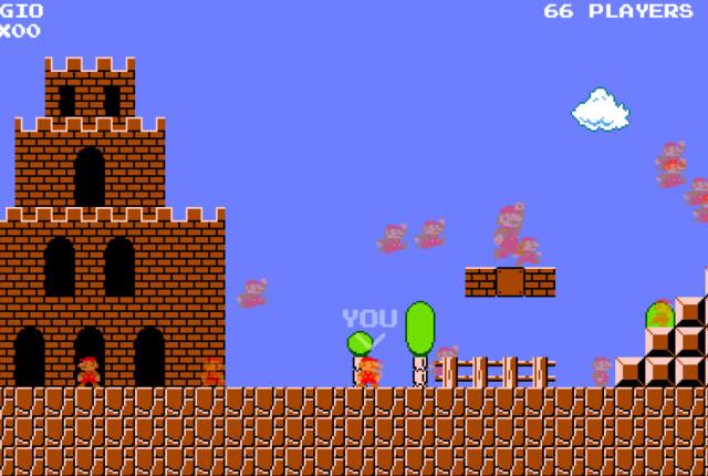 粉丝制的「Mario Royale」让你和 74 名对手同台竞速