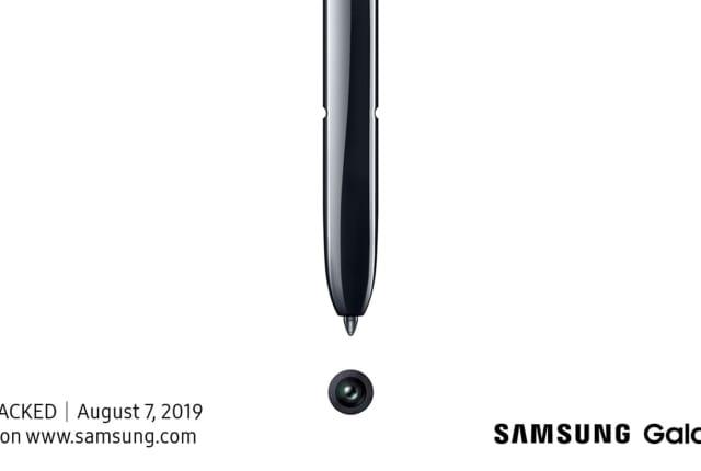 三星 Galaxy Note 10 将会在 8 月 7 日正式面世