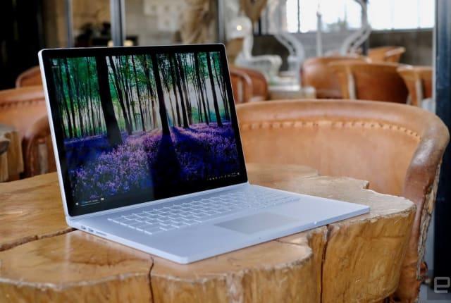 微软为 15 吋 Surface Book 2 增加一款卖 1,999 美元的低配型号