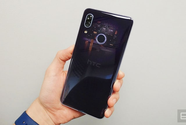 HTC U19e 动手玩,中端机也能玩虹膜解锁