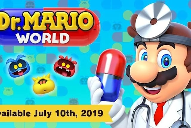 《马里奥医生世界》7 月 10 日登陆 iOS 和 Android