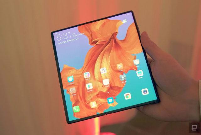 華為的 Mate X 折疊螢幕手機也要推遲到九月了