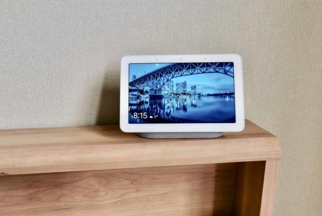 画面付きスマートスピーカーGoogle Nest Hub実機レビュー