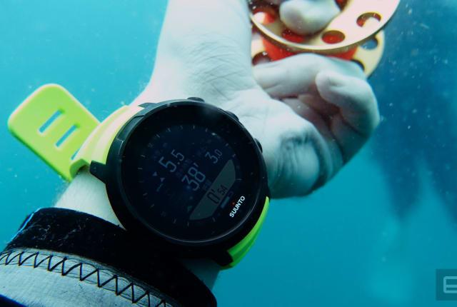 Suunto D5 潜水电脑表是走进潮流的好尝试
