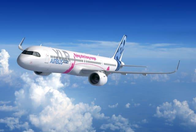 空中客车发布航程可达 8700 公里的新窄体客机 A321XLR