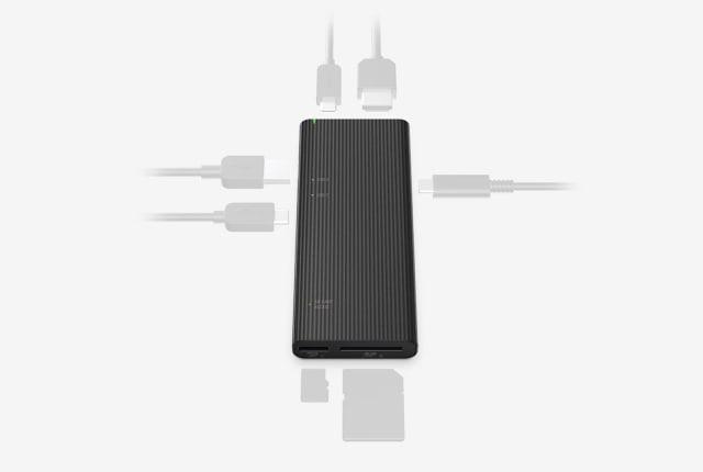索尼的新 USB hub 拥有「全球最快」的 SD / microSD 读卡器