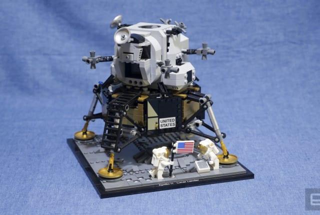 活.科技:乐高月球登陆艇