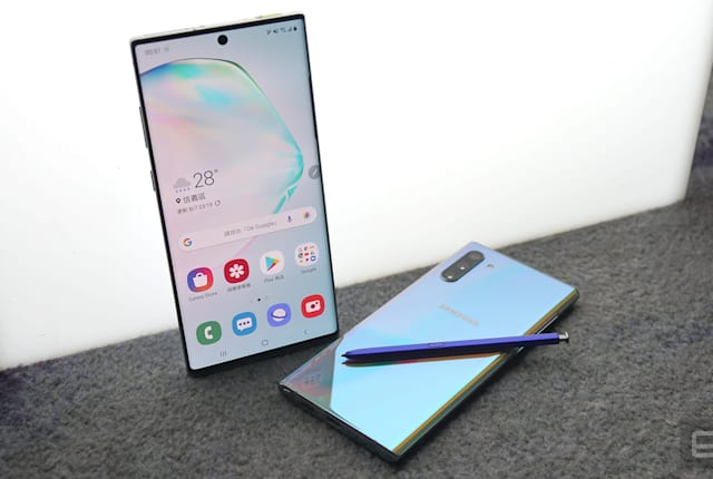 Samsung Galaxy Note 10 與 Note 10+ 動手玩:S Pen 變成魔杖!