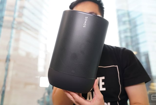 Sonos Move 評測:要把好聲音帶著走,代價少不了
