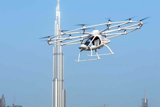 直播:Volocopter 飛行計程車在新加坡舉行首次公開試飛