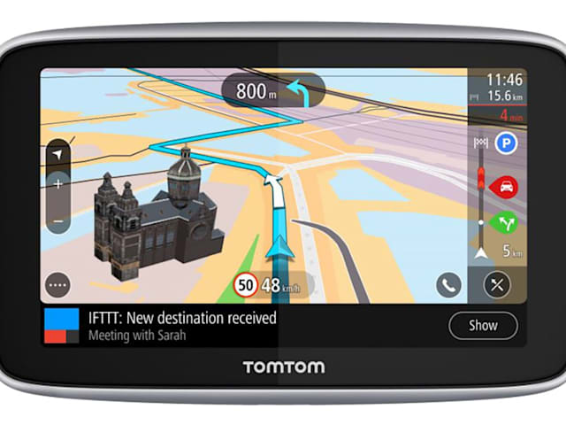 TomTom's new GPS uses IFTTT to interact with your smart home