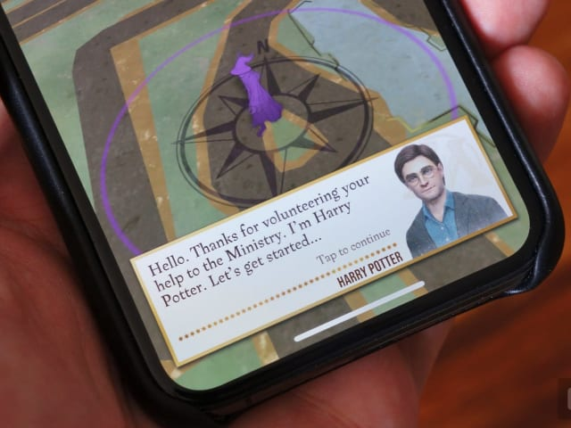 Harry Potter: Wizards Unite' will track activity without