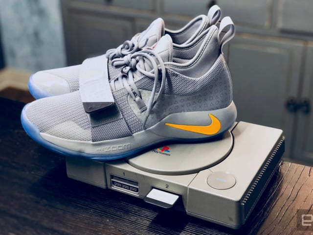 best sneakers 7a4c1 73434 Nike's new PlayStation sneakers pay homage to Sony's classic ...