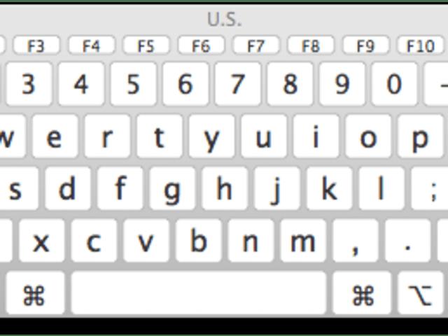 Mac 101: Using the keyboard viewer in OS X Mavericks
