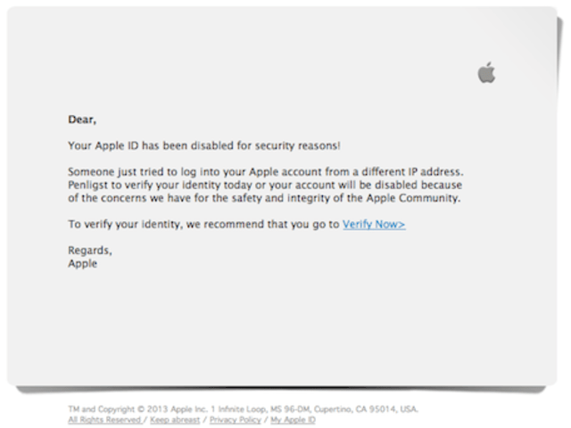 my apple id has been disabled