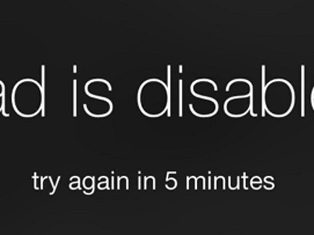 How To Fix An Ipad That S Been Disabled After Entering The