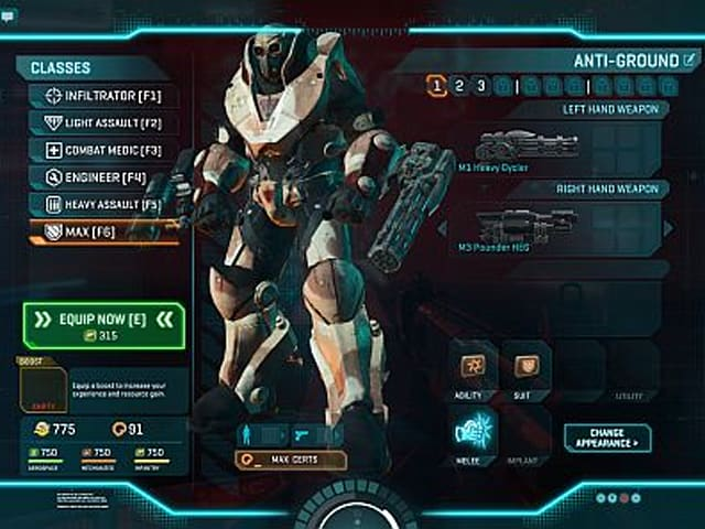 Choose My Adventure: MAXing out in PlanetSide 2