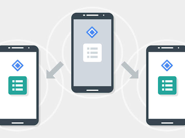 Android apps can find nearby devices even when they're offline