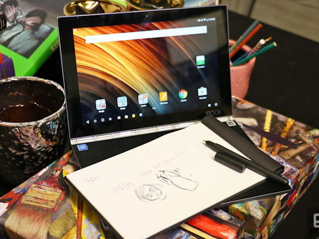 lenovo s futuristic yoga book is a novelty item not worth buying yet
