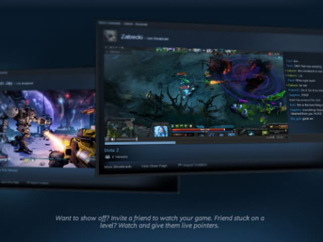 Steam infiltrates Twitch territory with Steam Broadcasting