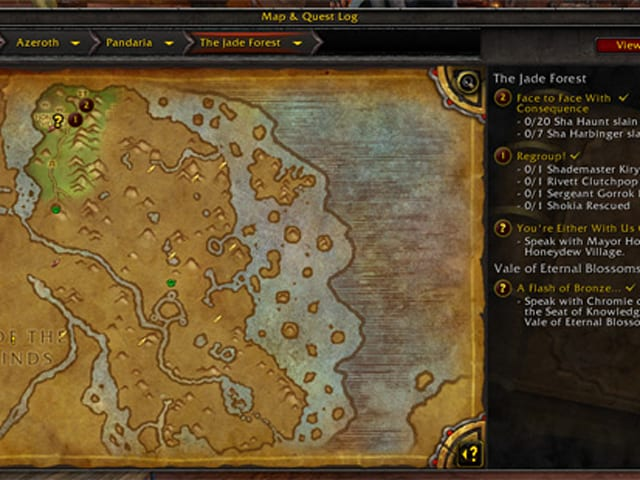 Warlords of draenor new quest and map interface gumiabroncs Choice Image