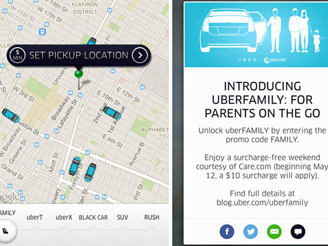 Uber Car Seat >> Uber Introduces Uber Family In Nyc Guarantees A Child Seat With