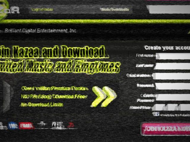 Kazaa lite download.