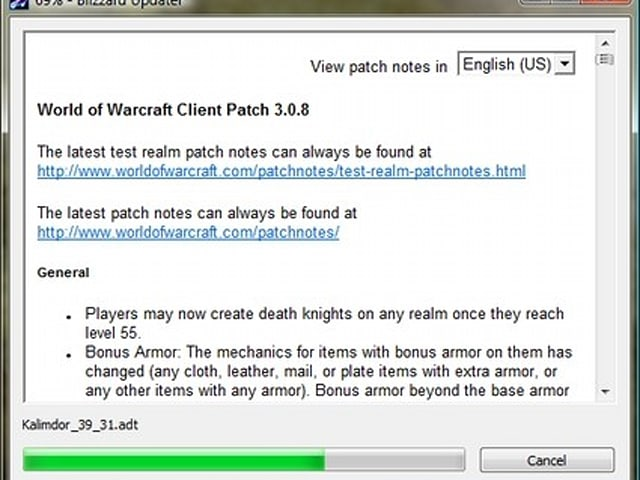 World of Warcraft 3 0 8 Patch Notes [Updated]