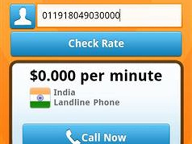 Vonage launches Android app for free international calling, still no