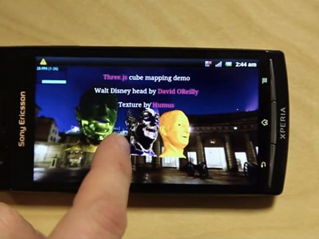 Sony's latest Xperia update brings WebGL support to 2011
