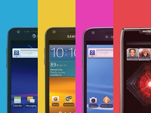Engadget's smartphone buyer's guide: fall 2012 edition.