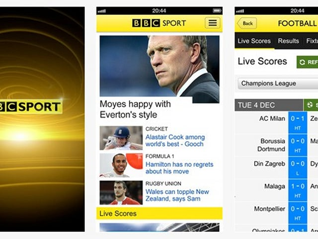 Bbc Sport App Launches For Ios In The Uk Android Version Promised