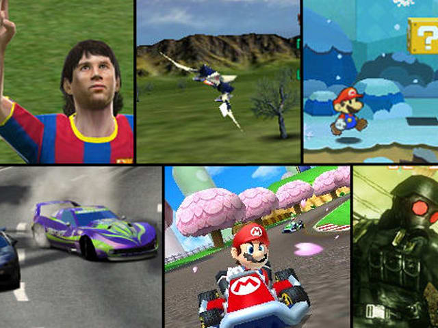 Feast your crossed eyes on this 3DS media round-up