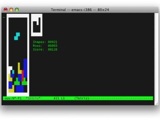 Terminal Tips: Play Tetris in Terminal