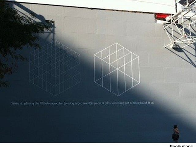 622dbdbeebc Apple to add seamless glass to 5th Ave Apple Store