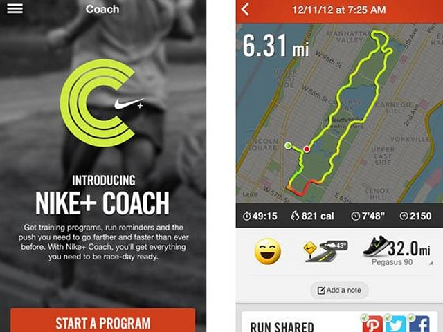 Inclinarse Reclamación Mexico  Nike+ Running for iPhone now keeps you motivated with a coaching mode |  Engadget
