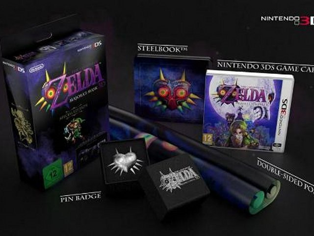 Check Out The Majora S Mask 3d Special Edition For Europe Engadget
