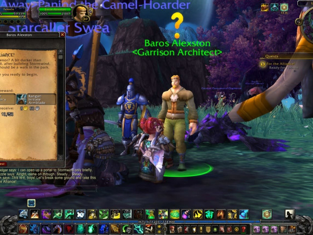 Warlords Of Draenor Garrison Basics Engadget