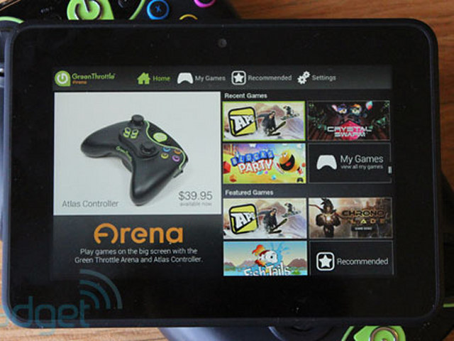Green Throttle Officially Launches Its Android Gaming Platform We Go Hands On Engadget