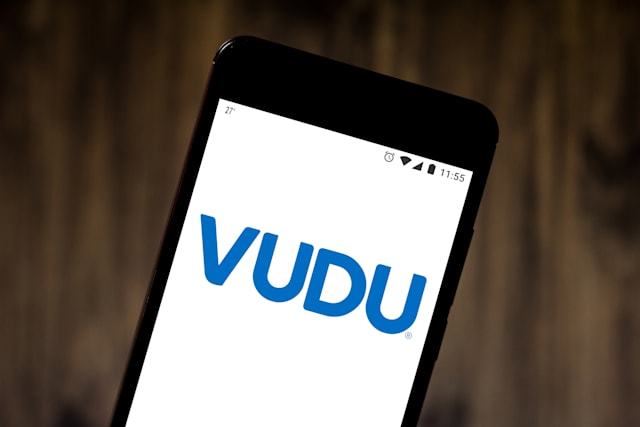 BRAZIL - 2019/05/24: In this photo illustration the Vudu logo is seen displayed on a smartphone. (Photo Illustration by Rafael Henrique/SOPA Images/LightRocket via Getty Images)