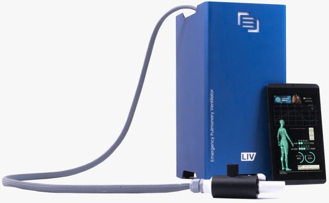 Maingear LIV ventilator