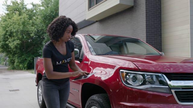 GM Maven car sharing service