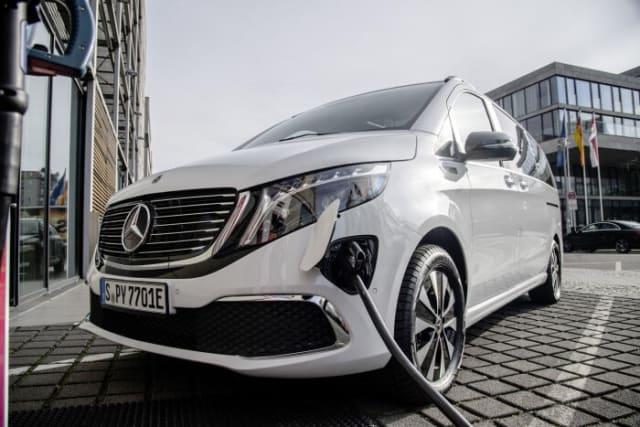 Mercedes' EQV electric van